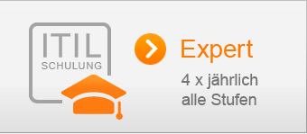 Schulung ITIL Expert